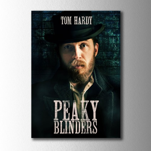 Tom Hardy Peaky Blinders Kanvas Tablo