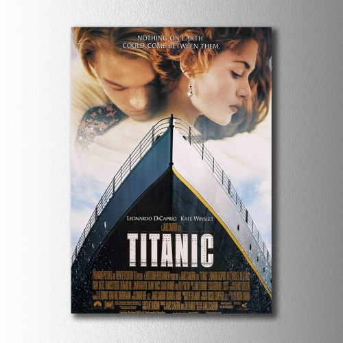 Titanic Afiş Kanvas Tablo