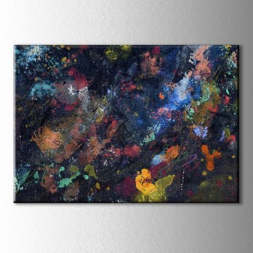 Renklerin Cümbüsü  Kanvas Tablo