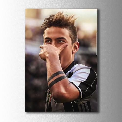 Paulo Dybala Kanvas Tablo