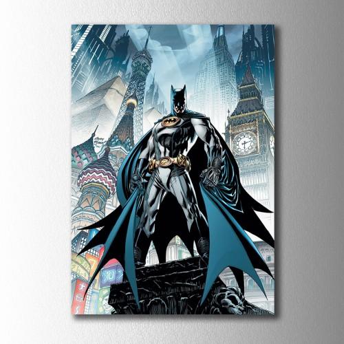 Batman Çizgi Kanvas Tablo