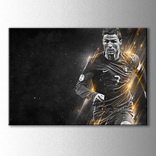 Cristiano Ronaldo Kanvas Tablo
