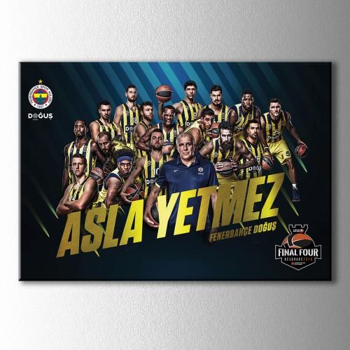 Fenerbahçe Basketbol Kanvas Tablo