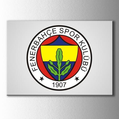 Fenerbahçe Logo Kanvas Tablo