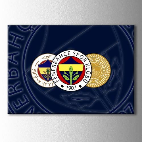 Fenerbahçe Yüzüncü Yıl Logo Kanvas Tablo