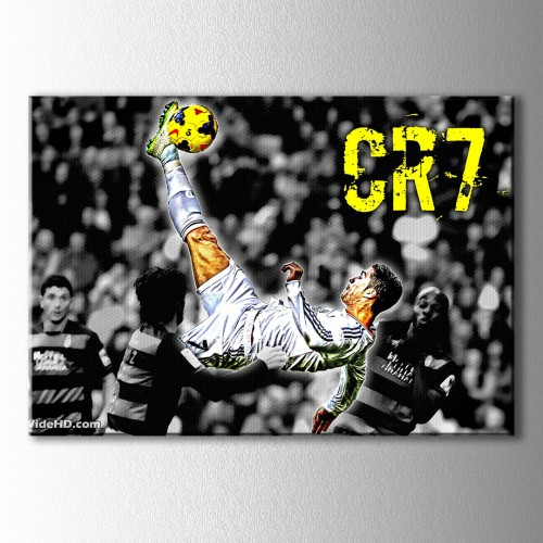 Cr7 Kanvas Tablo