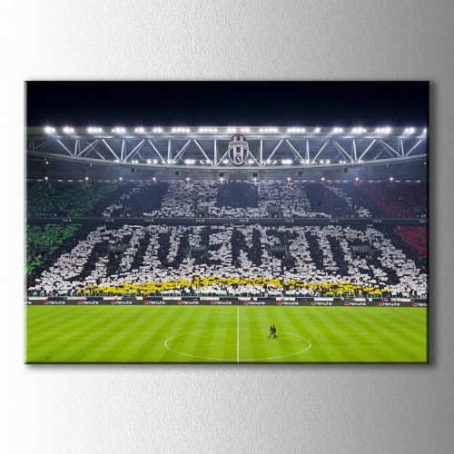 Juventus Taraftalar Kanvas Tablo