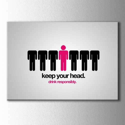 Keep Your Head Kanvas Tablo