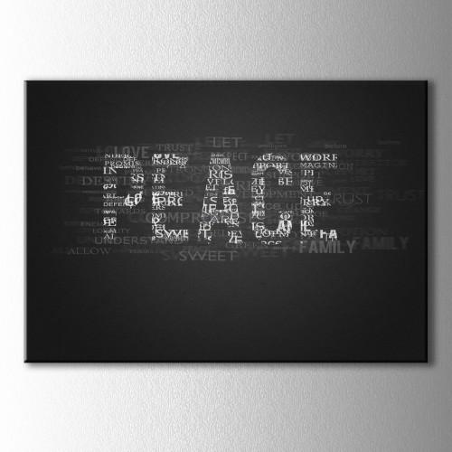 Peace Kanvas Tablo