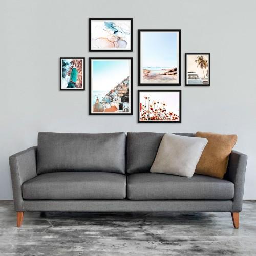 Deniz ve Tatil Poster Set