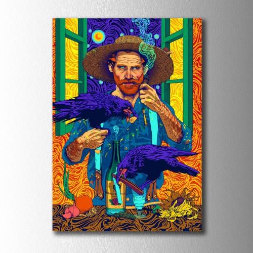 Van Gogh İllisürasyon Kanvas Tablo