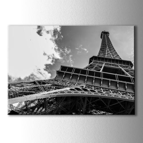 Dekoratif Eyfel Kulesi Kanvas Tablo