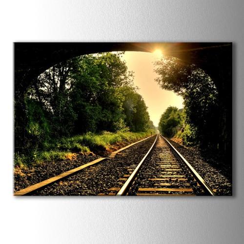 Özel Dekoratif Trenyolu Kanvas Tablo