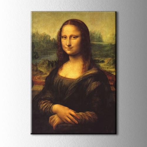 Mona Lisa Kanvas Tablo