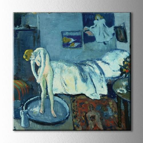 Picasso Blue Room Kare Kanvas Tablo