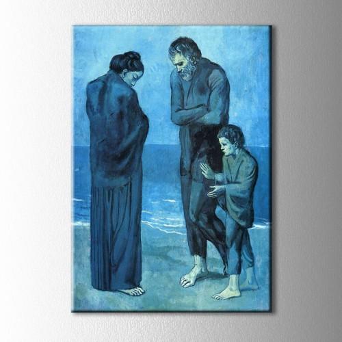Picasso Trajedi Kanvas Tablo