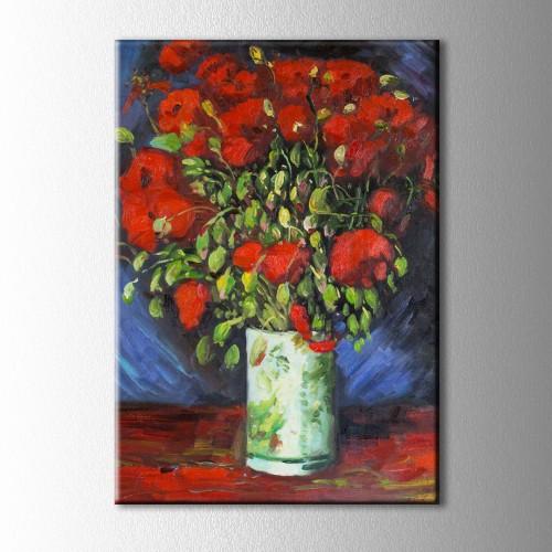 Van Gogh Gelincikler Kanvas Tablo