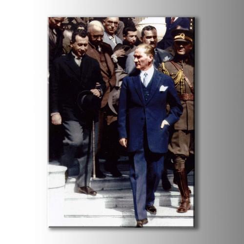 Atatürk Portreleri Koleksiyonu Kanvas Tablo