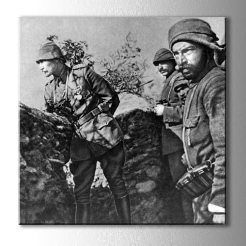 Cephede Atatürk Kanvas Tablo