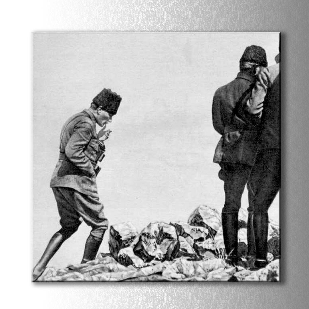 Kocatepe Ataturk Kanvas Tablo
