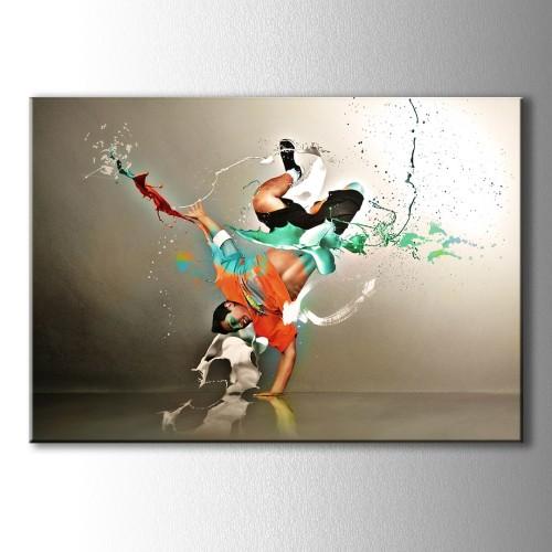 Dansın Pastel Renkleri Kanvas Tablo