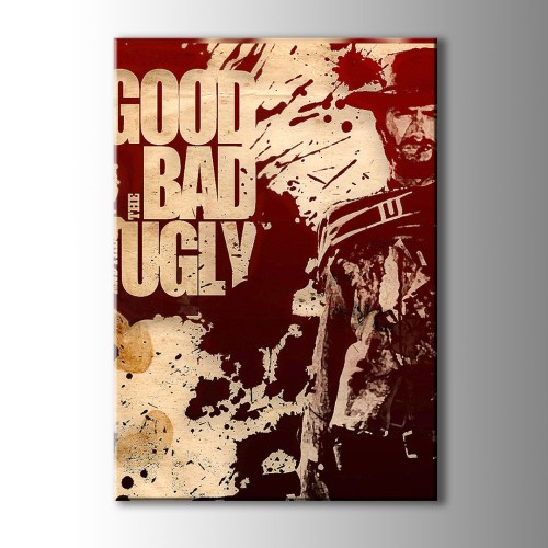 Good Bad And Ugly Kanvas Tablo