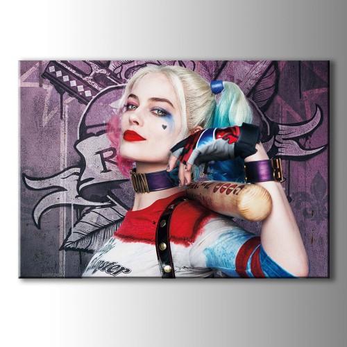 Harley Quinn Kanvas Tablo