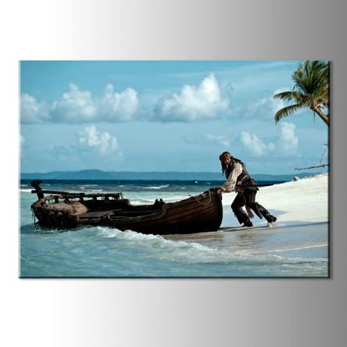 Karayip Kanvas Tablo