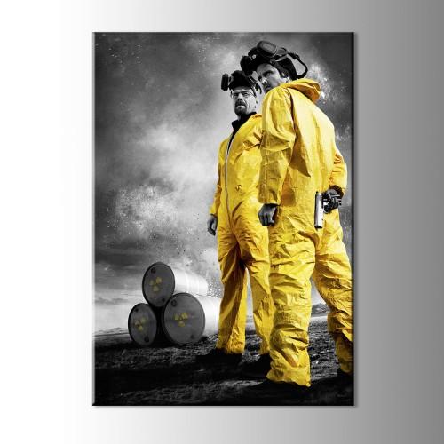 Breaking Bad Sarı Tulumlar Kanvas Tablo