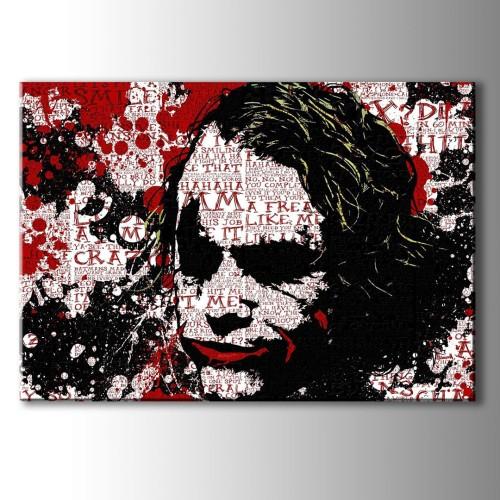 Modern Sanat Joker Kanvas Tablo