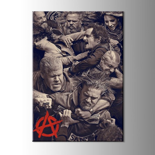 Son of Anarchy Kesit Kanvas Tablo