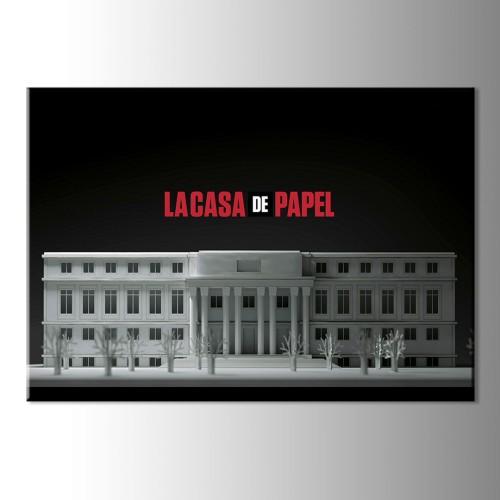 La Casa De Papel Baskılı Kanvas Tablo