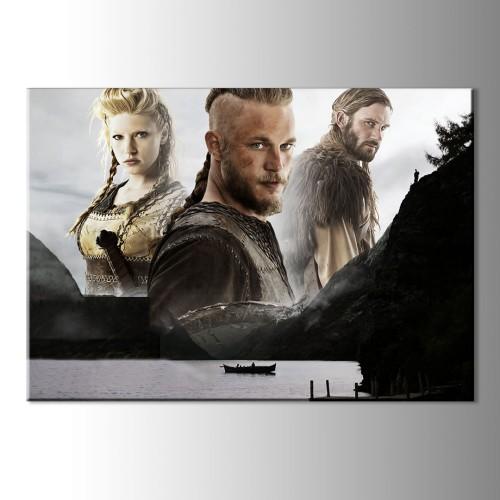 Vikings Kanvas Tablo