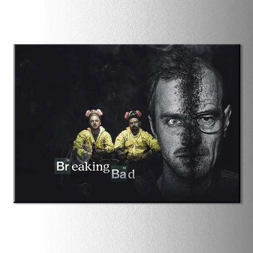 Jesse Pınkman ve Breaking Bad Kanvas Tablo
