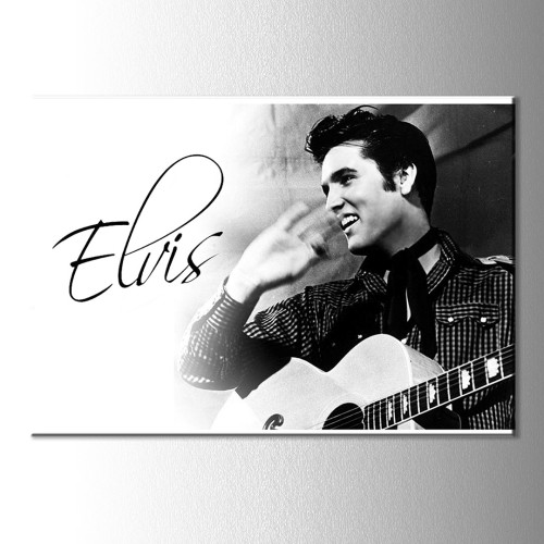 Elvis Kanvas Tablo