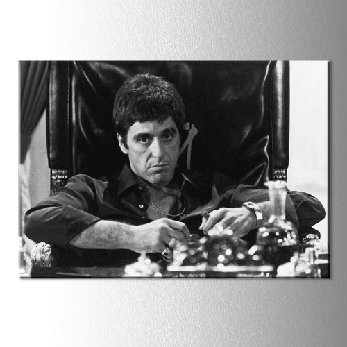 Scarface Kanvas Tablo