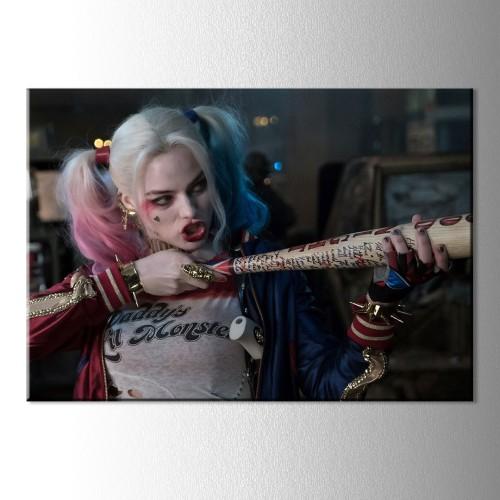 New Harley Quinn Kanvas Tablo