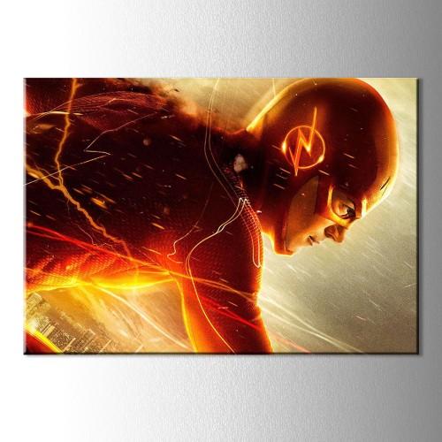 Turuncu Flash Kanvas Tablo