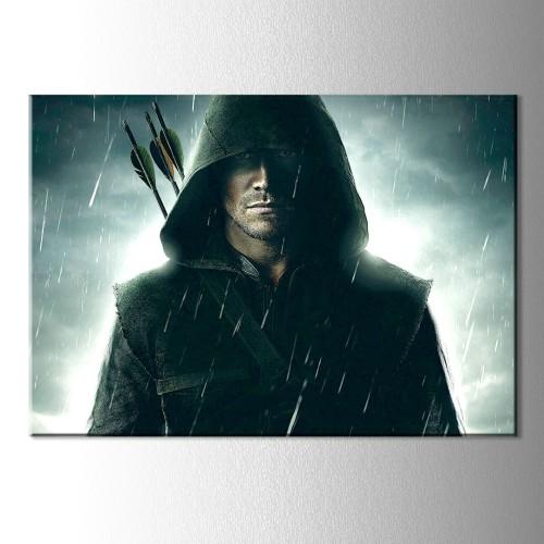 Yağmur Arrow Kanvas Tablo