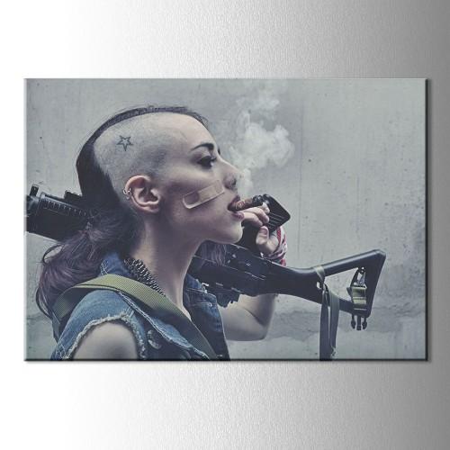 Tank Girl KAnvas Tablo