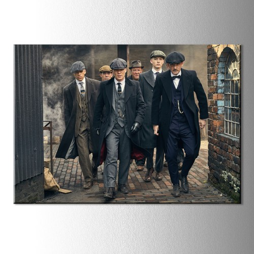 Peaky Blinders Kanvas Tablo