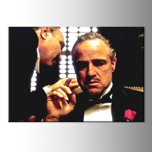 Godfather Don Corleone Kanvas Tablo