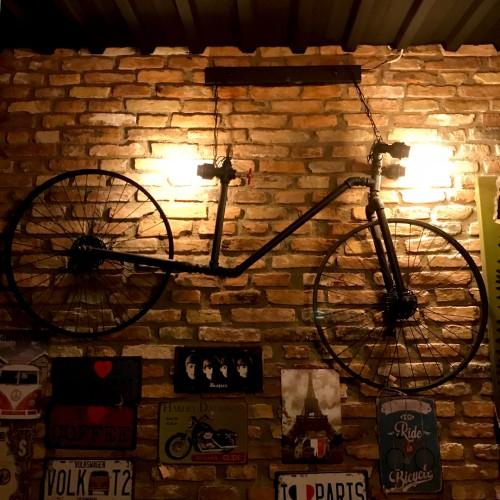 Dekoratif Aydınlatma Bisiklet
