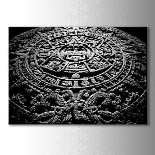 Aztec Kanvas Tablo