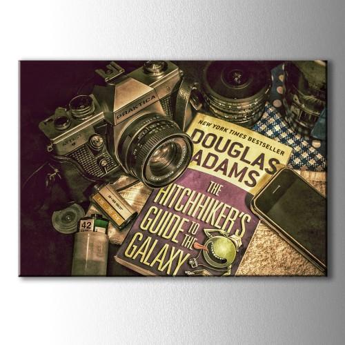 Fotoğrafçının Masası Kanvas Tablo