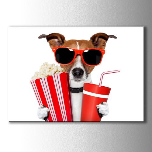 Cool Köpek Canvas Tablo