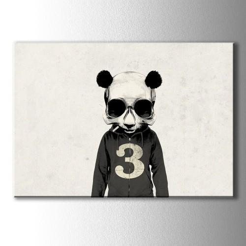 Cool Panda Kanvas Tablo