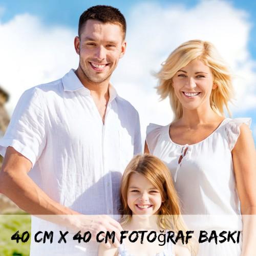 40cm x 40cm Fotoğraf Baskı
