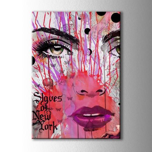 Slaves Of New York Kanvas Tablo