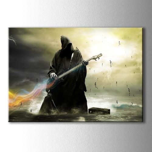 Gitar Çalan İskelet